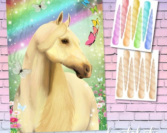 Pin The Horn On Unicorn Game