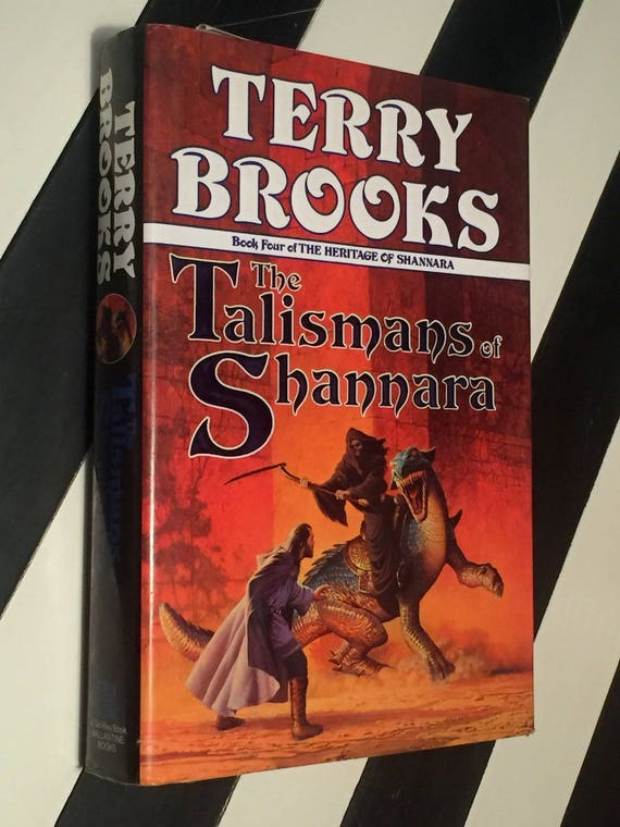 The Talismans of Shannara by Terry Brooks (1993) first edition book