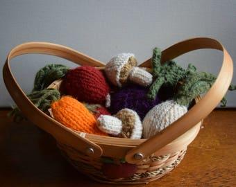 Knit Vegetables