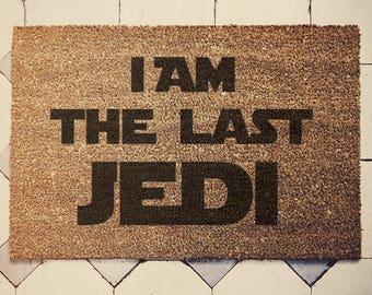 Star Wars Inspired Welcome Doormat coconut The Last Jedi