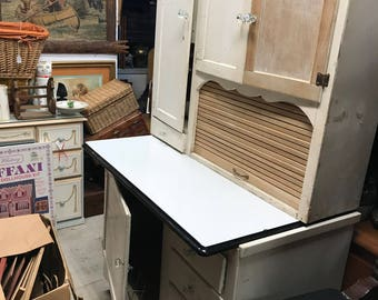 antiquing kitchen cabinets hoosier cabinet etsy 1304