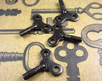 4 Tierracast Black Oxide Winding Key