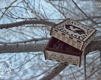 Totem crow rune set