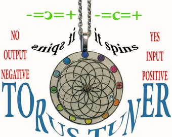 Torus Tuner Grey (Spinning Necklace)