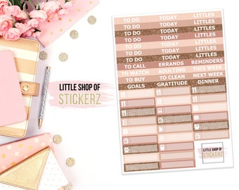 Coffee | HEADERS SHEET ONLY, Planner Stickers, Weekly Planner Stickers, To Do Stickers, Stickers For Planners, Header Stickers
