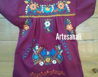 Mexican Embroidered Dress size 1 year old