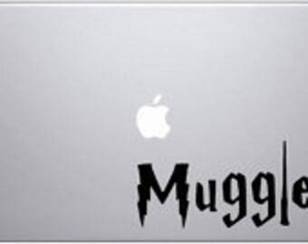 Muggle decal