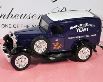 "1932 FORD SEDAN DELIVERY Coin Bank...""Anheuser-Busch Yeast""...From The Ertl Company In 1993"