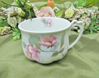 Pink Magnolia Fine China Teacup