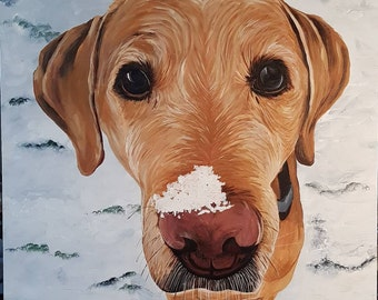 Commissioned pet and animal paintings