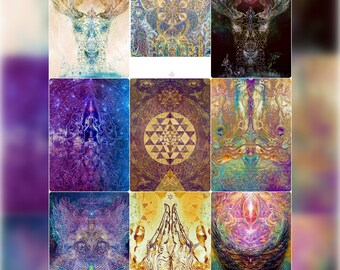 Visionary ChiTree HeART Postcard Set & Artprints