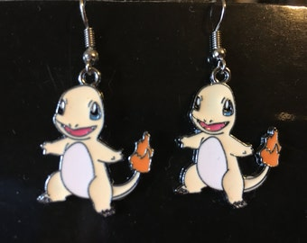 Pokemon Charmander Earrings   L40