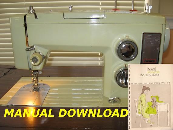 Sears Kenmore Model 40 Sewing Machine Owners Manual Kenmore Unique Owners Manual Kenmore Sewing Machine Model 385