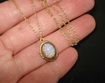 dragonfly locket blue crystal flower vintage filled photo necklace heart charm lockets etched gold with opal