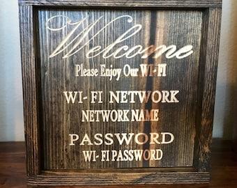 Welcome WI-FI