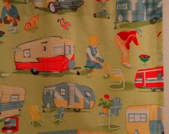 SALE Camper Trailer  Window Curtain Valance 42 x 15