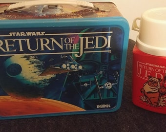 Star Wars Return of the Jedi Lunch Box with Thermos