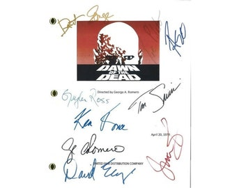 Hellboy Movie Script Signed Screenplay Autographed Guillermo