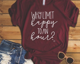 Happy Hour graphic tees