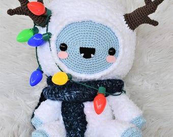 Eddie the Baby Yeti Crochet Pattern / Amigurumi / Photo Tutorial
