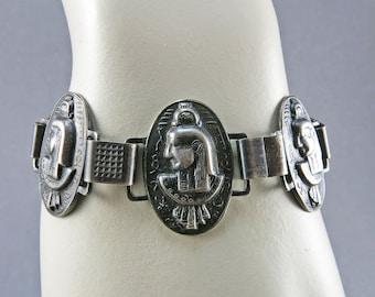 Vintage Egyptian Revival Bracelet Vintage Jewelry