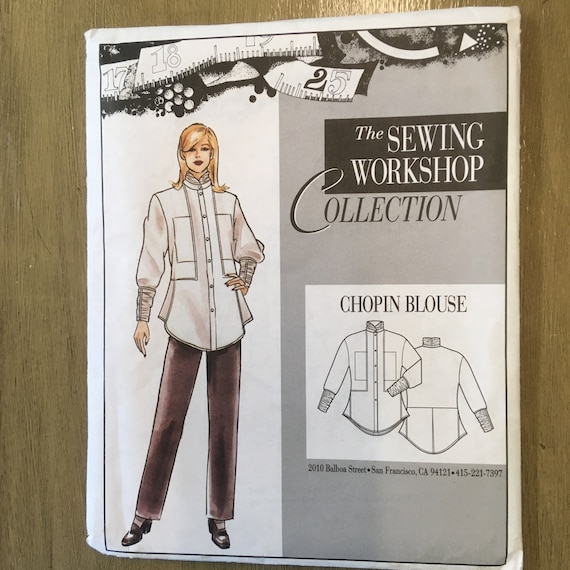 The Sewing Workshop Pattern Collection Chopin Blouse Complete
