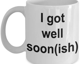 Got Well Soon Coffee Mug | Get Well Soon Gifts | Get Well Gifts | Get Well Messages | Get Well Soon Funny | Get Well Wishes | Just Beat It