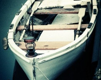 White Boat - 8x10 or 8x12 Original Signed Fine Art Photograph