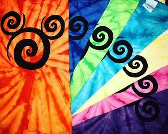 2018 Disney Shirts - Tie Dye Shirt - Disney Family Shirts - Disney Home shirt - Matching Family Shirts