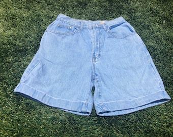 intage 1980s 90s Gitano Jeans High Waisted Denim Shorts Mom Jeans Vintage Denim Jean Shorts Size 12