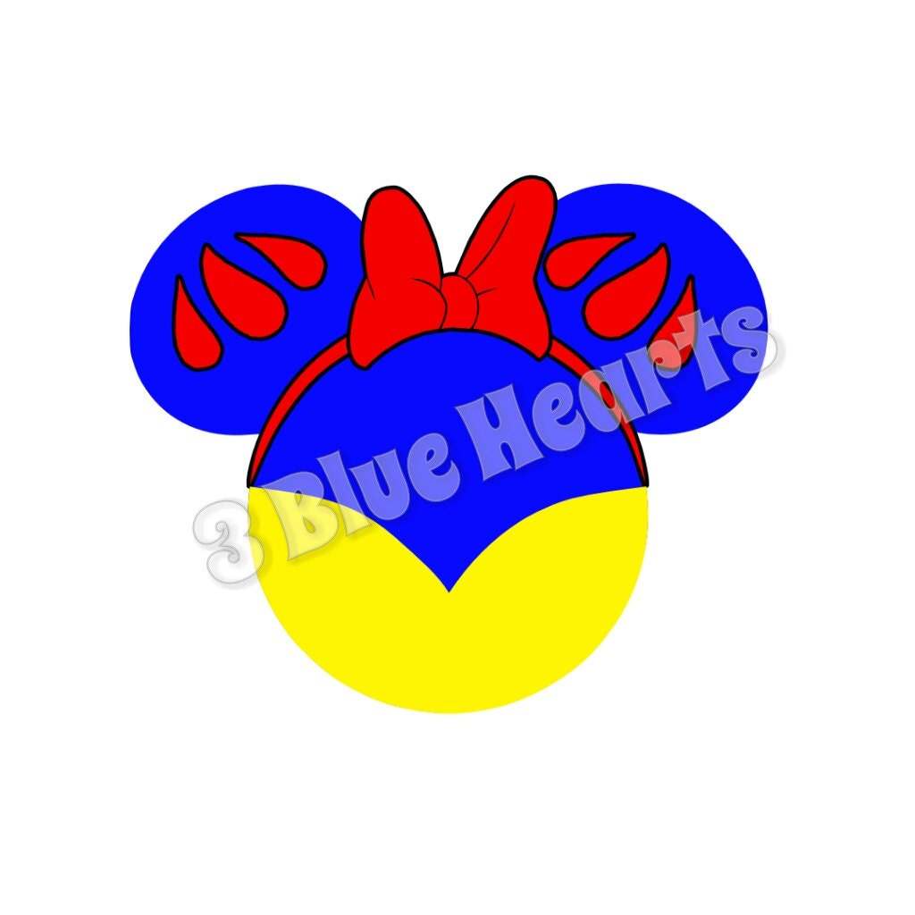 Snow white mickey head svg dxf pdf studio disney svg dxf pdf zoom buycottarizona