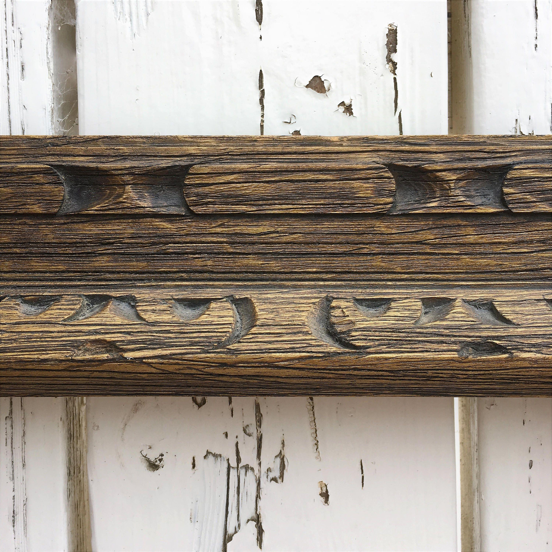 Marco madera vintage, Boho cuadros, 10 x 12 Retro marco, marco de ...