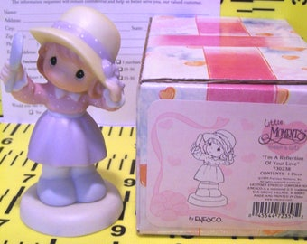 REDUCED! Precious Moments Little Moments. I'm a Reflection of Your Love. 1999.  Retired. By Enesco. Excellent Condition.