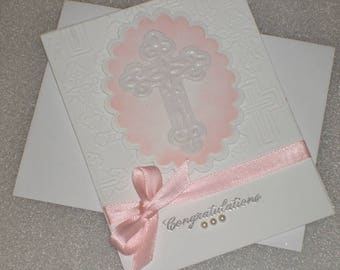 Religious Baby, Christening, Baptism, Adoption, New Baby, Welcome Baby, First Holy Communion, Confirmation Card