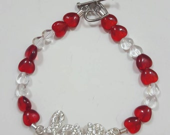 Bling Love with beads