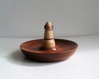 Ring and Trinket Dish in Mahogany E75