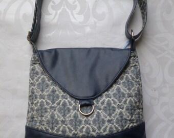Medium Blue cross-body bag