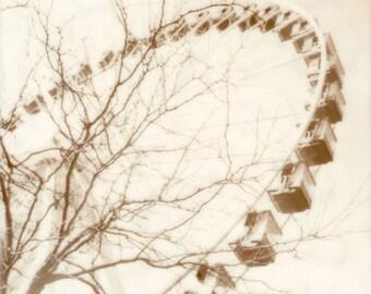 Navy Pier Chicago Ferris Wheel Photograph