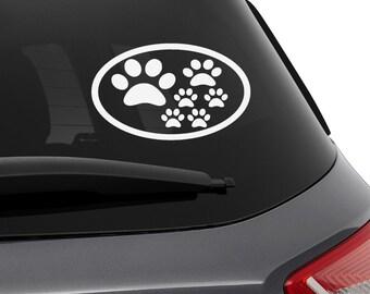 Subaru Sticker Accessories Dog Logo Pet Impreza   Wrx   Sti   Rally    Forester