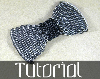 Chainmail Bow Tie Tutorial