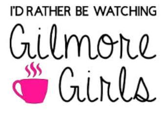 Custom Gilmore Girls Coffee Vinyl Decal