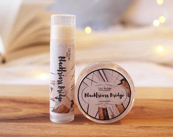 Blackfriars Bridge Lip Balm | Inspired by The Infernal Devices by Cassandra Clare