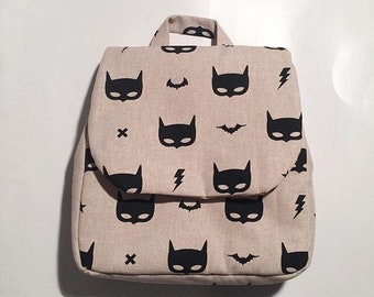 Hero backpack / school nursery /maternelle baby/kids/gift. French manufacturing.