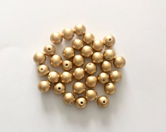 Gold Beads- Add on to our custom mobiles ( 5mm)