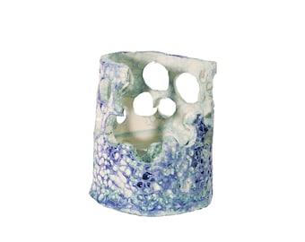 Handcrafted Mini Light Blue Textured Sea Box