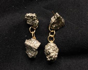 Pyrite Earrings