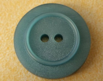 13 turquoise buttons 19mm (3457) button