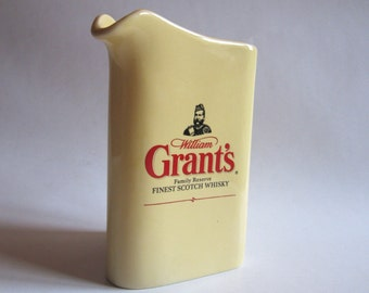 whisky Grant's advertising pitcher, jug