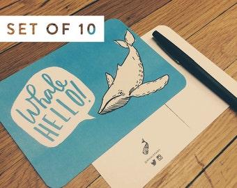 Whale Hello | Postcard Set