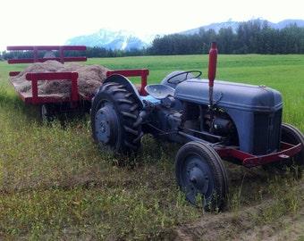 Alaska Farm Tractor Color Version photo